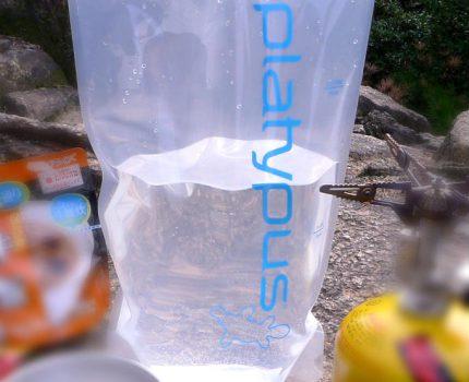 プラティパス(Platypus)をすばやく乾かす方法  その1「次の日にはしっかり乾燥」編