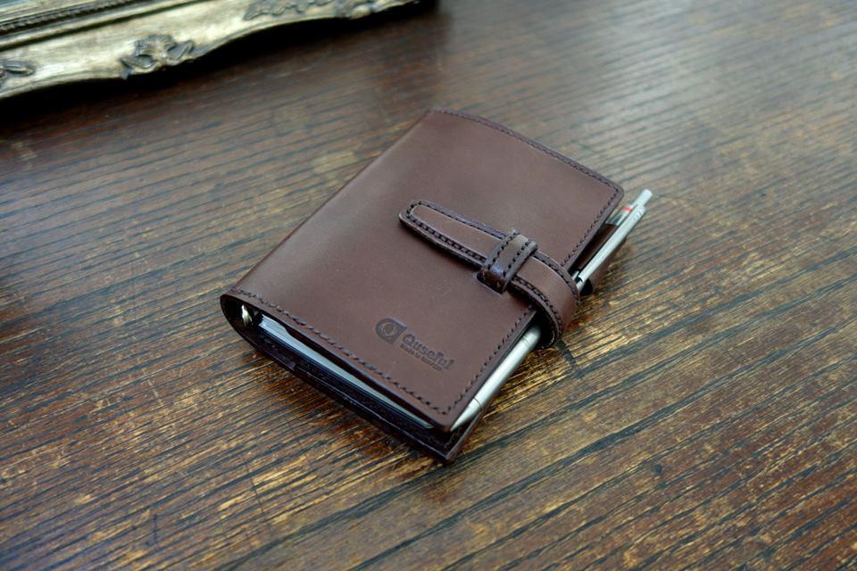 手帳カバーの自作日記 その3【一気に仕上げまで】