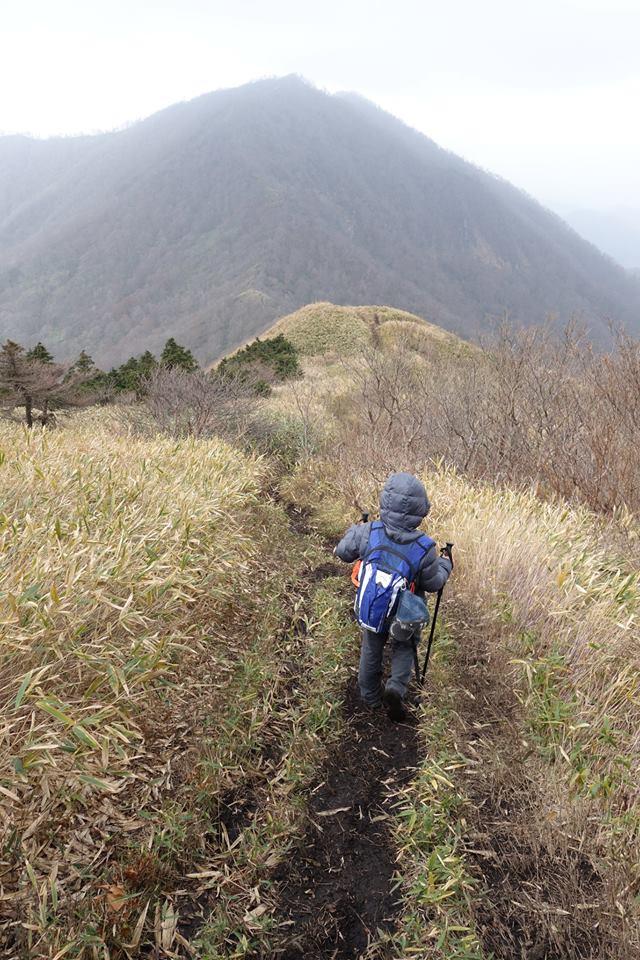 上蒜山登頂