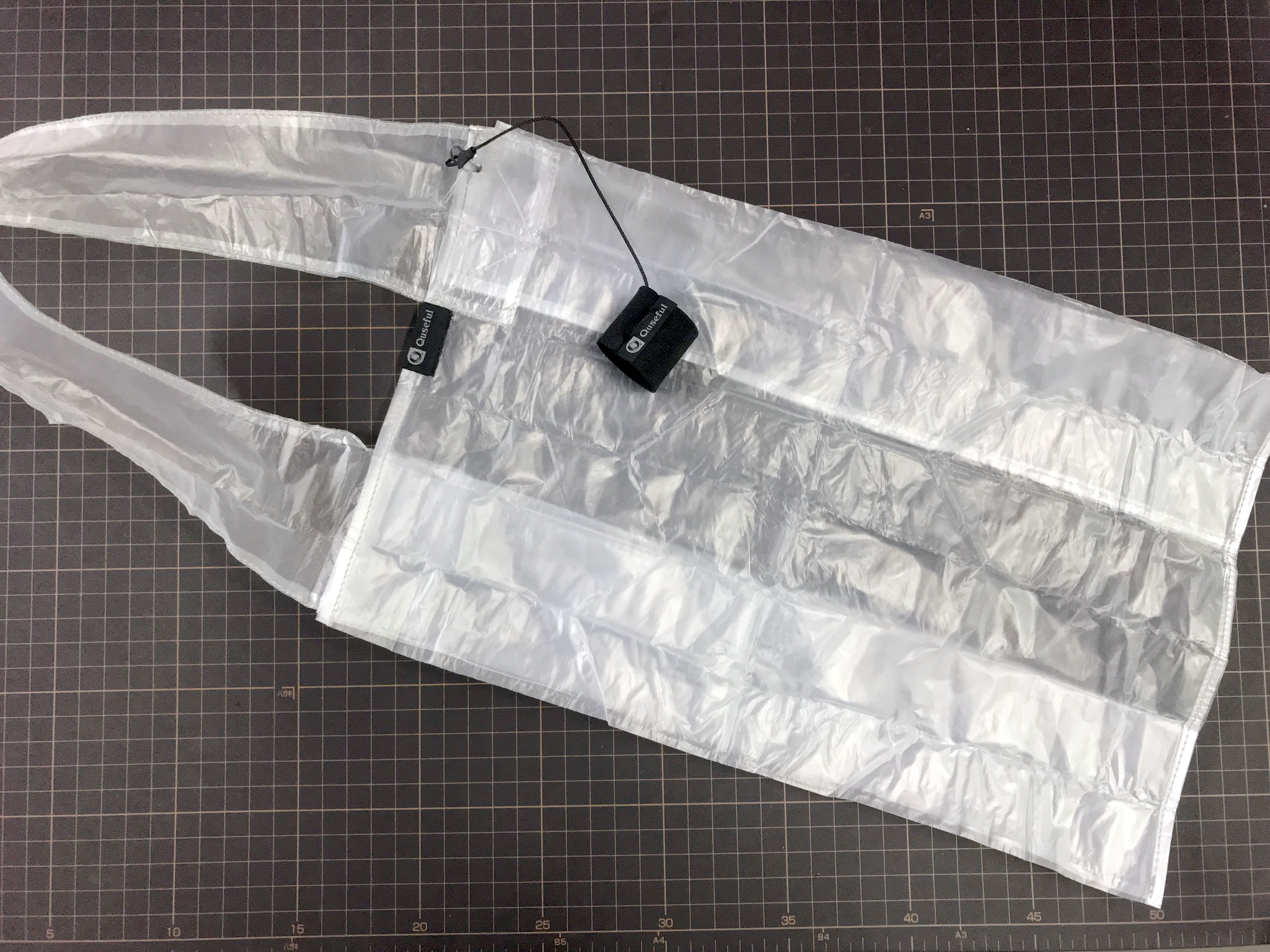 ゴミ箱で作る携帯バッグ